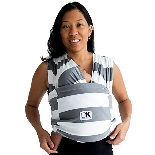 Baby K Tan Print Baby Wrap Carrier Infant And Child Sling